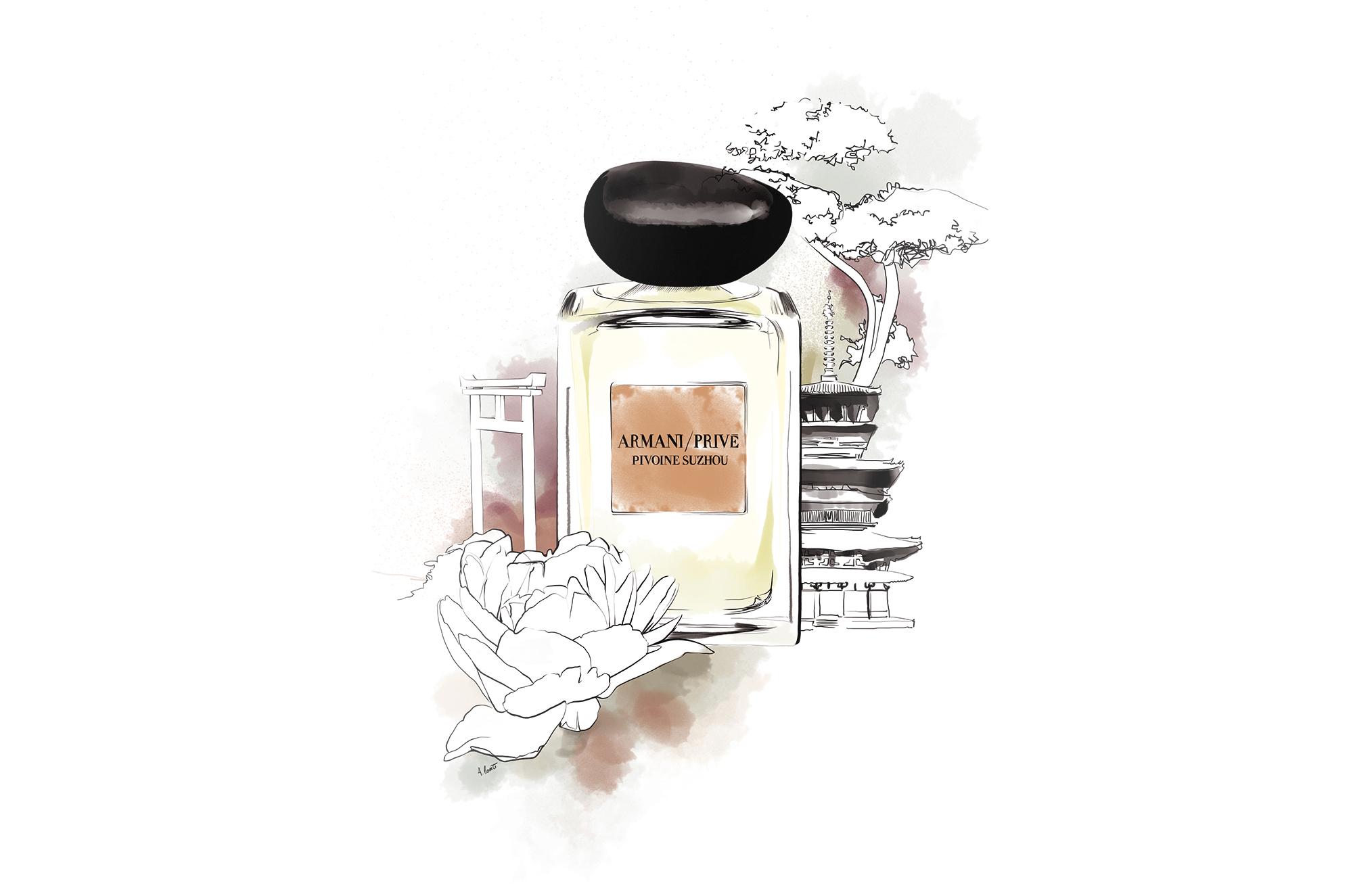 dessin_parfum_pivoine_armani