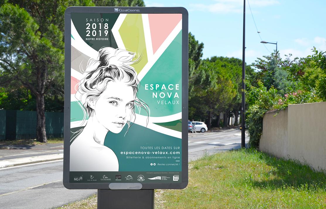 Affiche Espace Nova Velaux