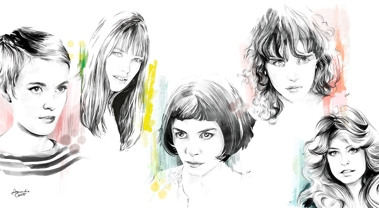 Portraits de stras de cinéma