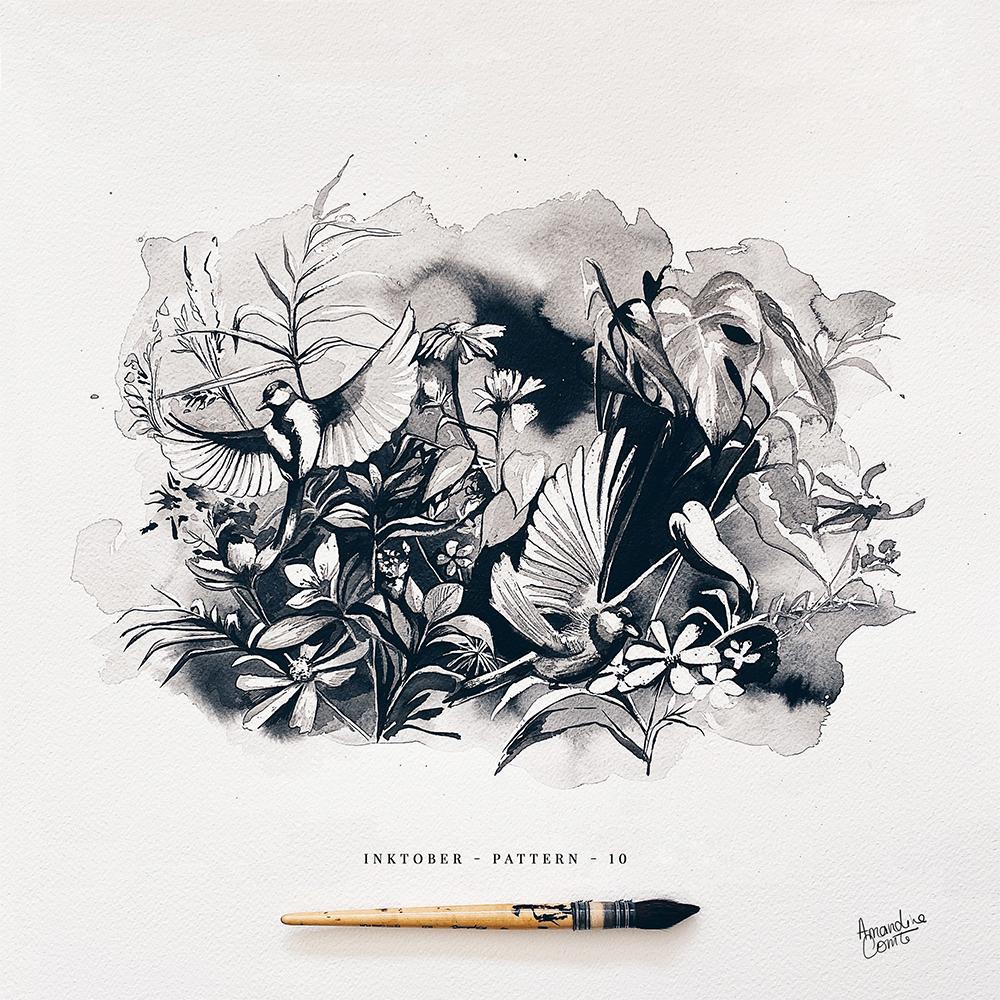 Composition artistique florale