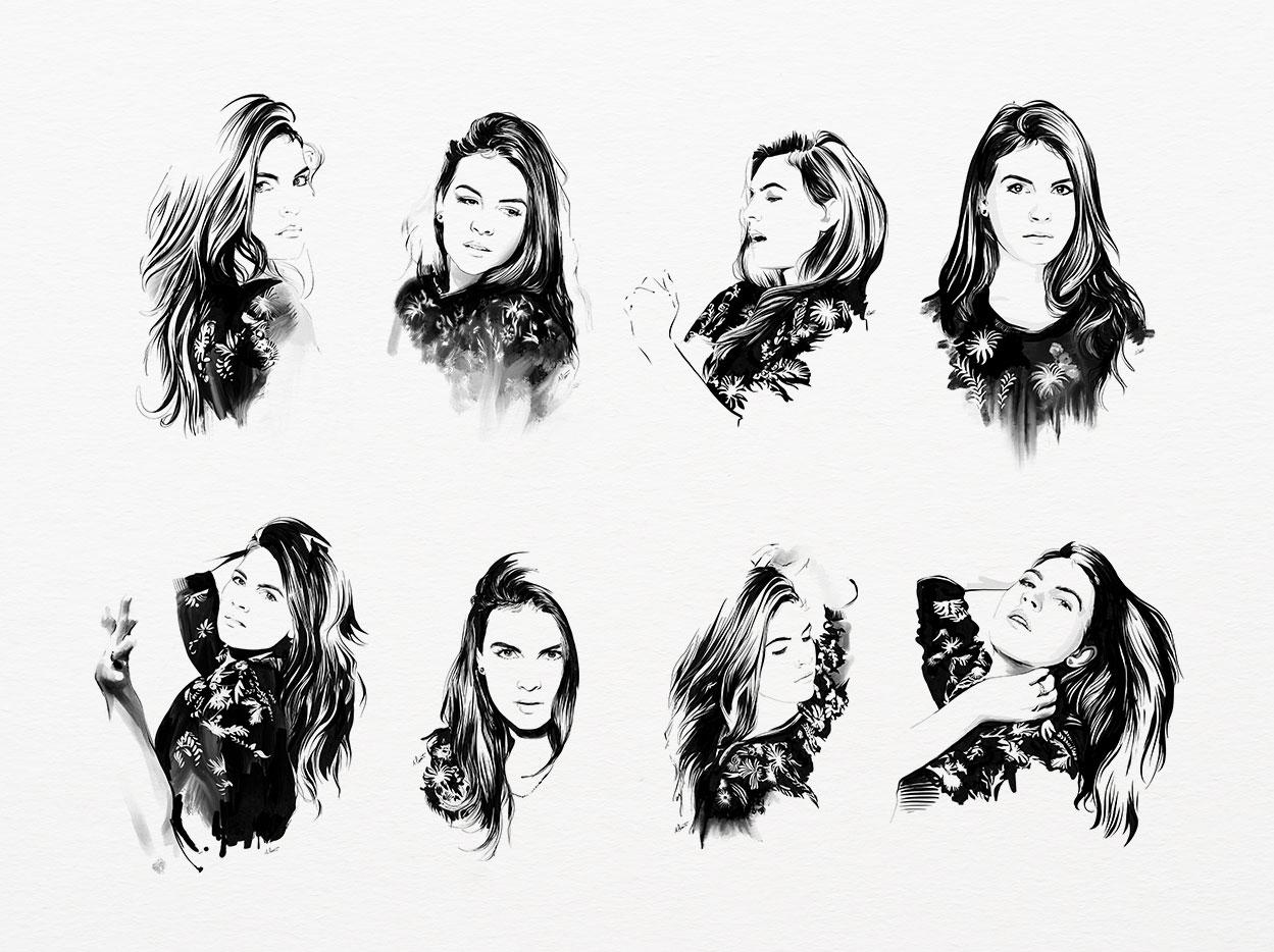 Portraits Nathaje